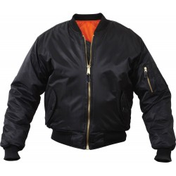 Giubbino New Bomber 100% nylon Nero