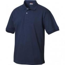 Polo Cotone Blu
