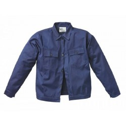 Giubbino Cotone Blu 180 g/mq