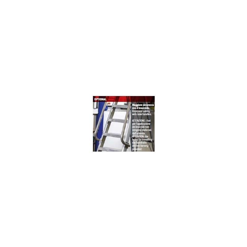 Braccioli per scala alluminio professionale