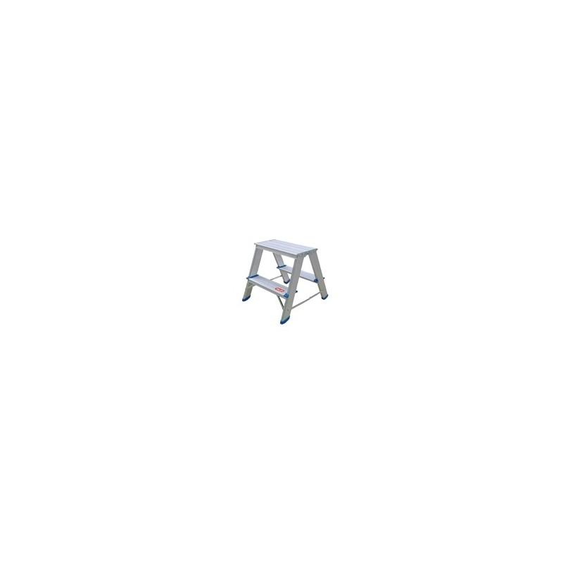 Scaletta doppia in alluminio