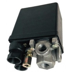 """Pressostato compressore monofase 230 Volt - 4 vie 1/4"""""""