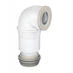 Curva WC flessibile ed estensibile