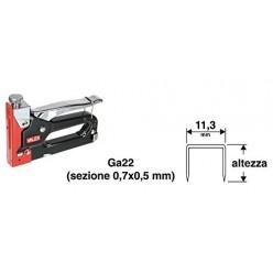 Graffette per puntatrice. Altezza mm.8 Ga20 Valex art.1455621