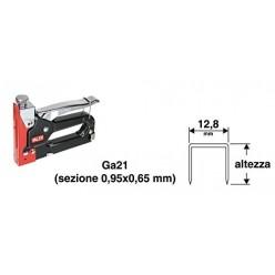 Graffette per puntatrice. Altezza mm.12 Ga21 Valex art.1455584