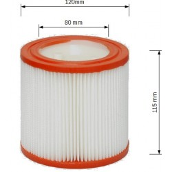Filtro per bidone aspirapolvere ASPIRIX RIBIMEX RIBITECH