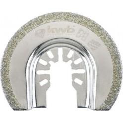 Lama diamantata semicircolare 65 mm KWB 709546