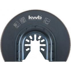 Lama HSS semicircolare 87 mm KWB 709440