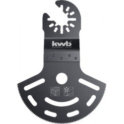 Lama CV semicircolare prolungata 80x55 mm KWB 708550