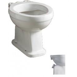 Vaso WC ridotto a 2 fori scarico a pavimento