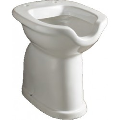 Vaso WC per disabili aperto - scarico a pavimento