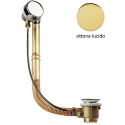 Colonna Vasca Ottone/Rame - Finiture ottone lucido