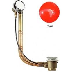 Colonna Vasca Ottone/Rame - Finiture Rosso lucido
