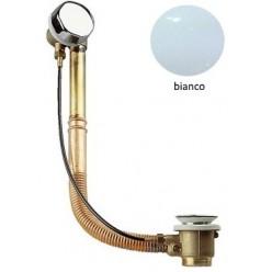 Colonna Vasca Ottone/Rame - Finiture Bianco lucido