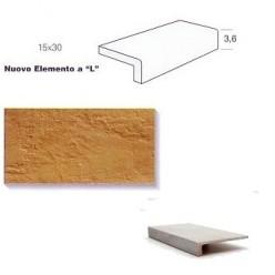 "Elemento a ""L"" (elle) Gres Porcellanato Monolitico - Sichenia EL5423"