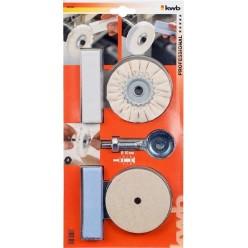 Set Lucidatura Professionale Kwb 485200