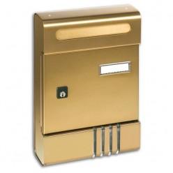 Cassetta Postale Alluminio Bronzo Alubox