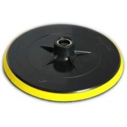 Platorello in gomma a strappo velcro 180 mm