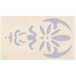 Mascherina Stencil per Decorazioni cm. 12x36