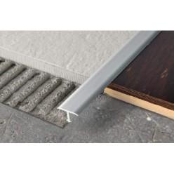 Profilo a T in Alluminio - per Pavimento mm. 14