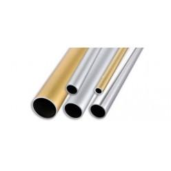 Tubo Tondo in Alluminio mm.24x1  mt. 2