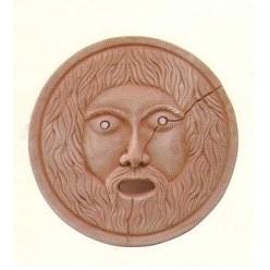 Bocca della Verità in Terracotta - Decorazione Bassorilievo