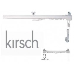 Binario Scorrevole per Tende - Estensibile 168/305 cm. Kirsch