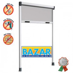 BAZAR - Zanzariera avvolgibile verticale cm. 120x250