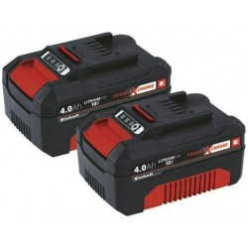 Einhell set 2 Batterie PXC-Twinpack 18V 4,0 Ah Art.4511489