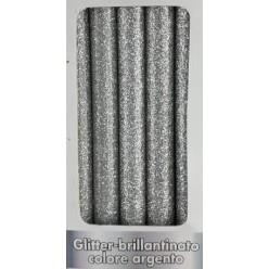 Stick Colla a Caldo Argento con Glitter 8x300