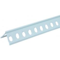 Paraspigolo per intonaco in PVC forato 25x25 mt.2,50
