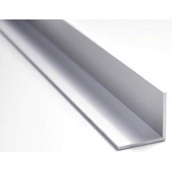 Angolare Paraspigolo Alluminio Argento 25x25 mt.2