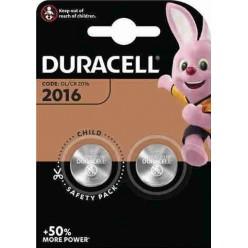 Duracell DL/CR 2016 Batteria 3V - 2 Pz.
