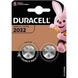 Duracell DL/CR 2032 Batteria 3V - 2 Pz.