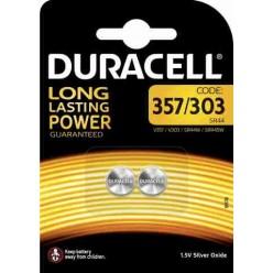 Duracell 357/303 Batteria 1,5V