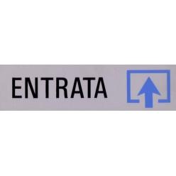 Targhette Adesive Segnaletiche - ENTRATA