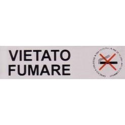 Targhette Adesive Segnaletiche - VIETATO FUMARE