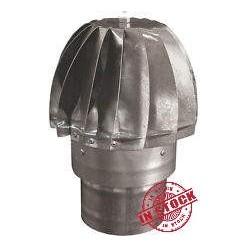 Fumaiolo - Comignolo testa girevole diam. 140 mm.