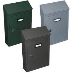 Cassetta Postale Verde Martellato