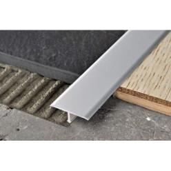 Profilo a T in Alluminio - per Pavimento mm. 40